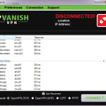 IPvanish Client Review + US-UK Server Speed Test